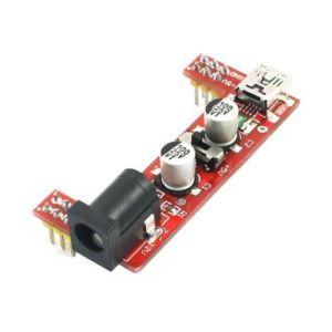 Breadboard special power Modulo 2-way 5V / 3.3V red