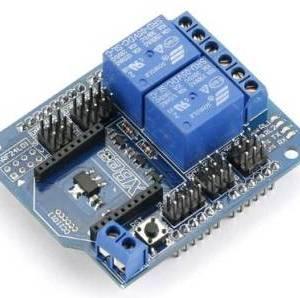 Relè XBee BTBee Shield a 2 canali per Arduino