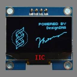 "Pin LCD da 1.3 ""IIC / I2C 12864 OLED LCD a 4 pin"