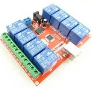 Modulo relè 12V a 8 canali con interruttore di controllo USB
