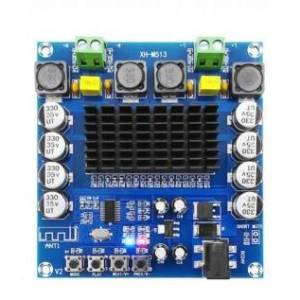 TDA7498 Scheda amplificatore digitale stereo audio a doppio canale di classe D da 100 W + 100 W XH-M513
