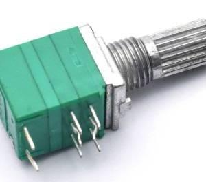 RV097GS Potenziometro doppio a 8 pin B10K con interruttore
