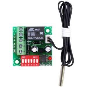 Termostato digitale interruttore termostato Termostato regolabile Termostato DC 12V Regolatore di raffreddamento XH-W1701