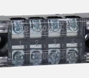 2 Pezzi TB1504L 5 A 600 V Connettore a vite a doppia riga FISSA morsettiera elettrica