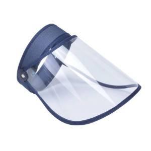 Maschera antisaliva, cappello antisaliva BLU