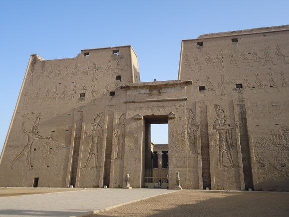 Templo en honor a Horus, en Edfu