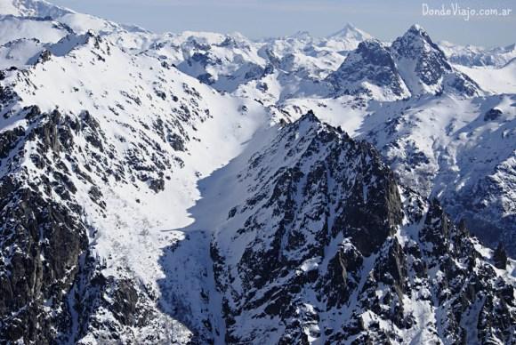 Imponente vista desde el Cerro Catedral