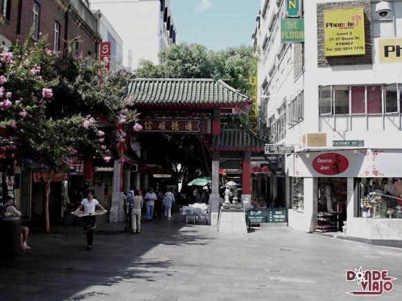 Barrio Chino de Syndey