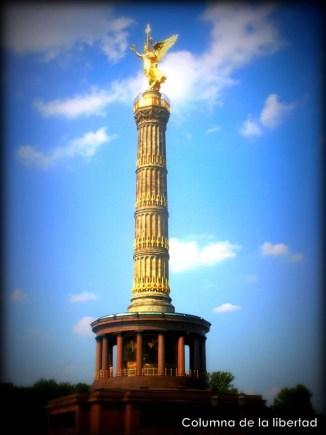 Columna de la libertad, Berlín