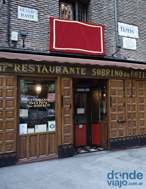Restaurante Botín, Madrid