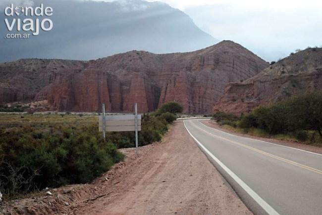 Camino de Cafayate a Salta