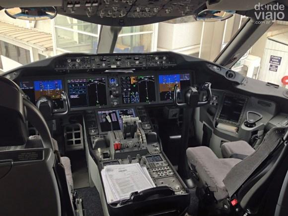 Cabina de piloto B787