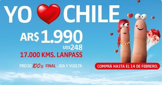 Promo LAN a Chile