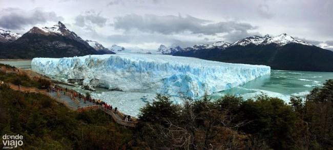 Panorámica del Glaciar Perito Moreno