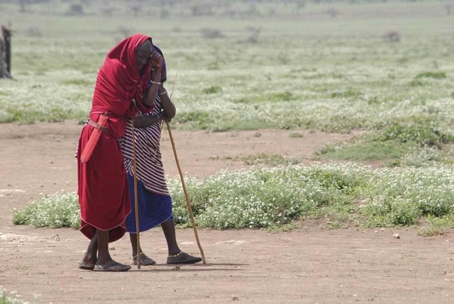 Tribu masái (Kenia)