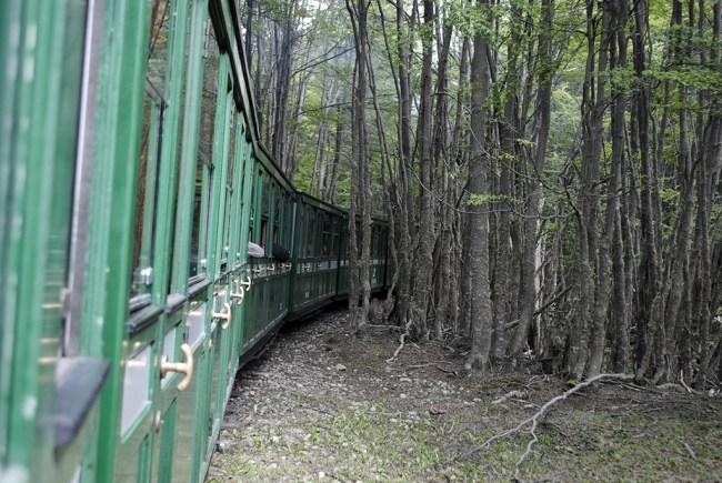 Tren del Parque Nacional Tierra del Fuego