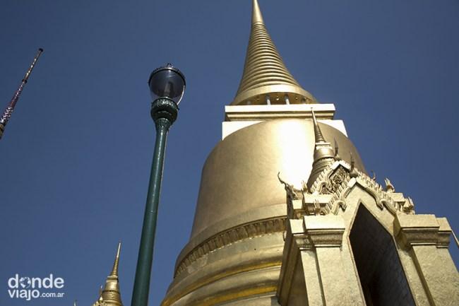 Chedi dorado Gran Palacio