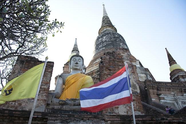 Templos en Ayutthaya