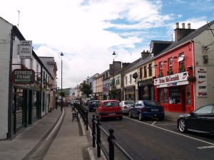 Letterkenny Main Street had to be sealed off.