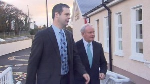 pearse doherty with martin mcguinness