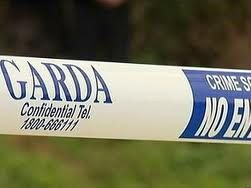 Gardai examined the scene where Mr Bonnar was knocked down and killed.