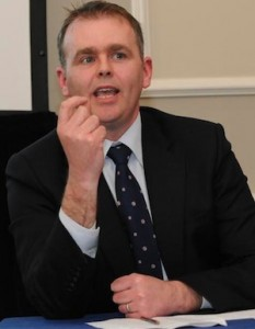 Minister Joe McHugh