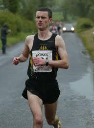 Ivan Toner, winner of the Manor 5K.