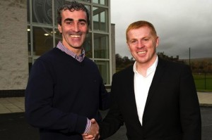 Jim McGuinness has said he will miss Neil Lennon following his departure from Celtic Park.