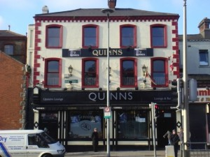 Quinn's bar was closed for two days by the HSE.