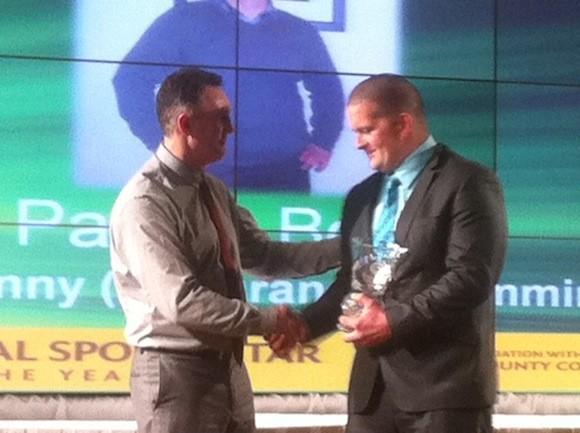 Patrick Bond gets the Brendan McDaid Special Achievement Award