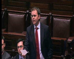 Joe McHugh in Dail