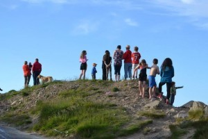 The horsemen left Malin Head yesterday.