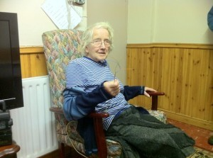 Isabel Arthur pictured at her home in Feddyglass, Raphoe after being attack by burglars.