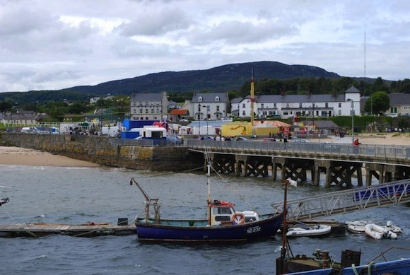 The incident took place at Rathmullan Pier