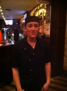 The woman behind the superb food at Fingers and Forks at Voodoo Lounge in Letterkenny.