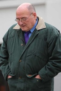 Retired farmer Sam Cunningham denies he was event at house in Downings during alleged assault.