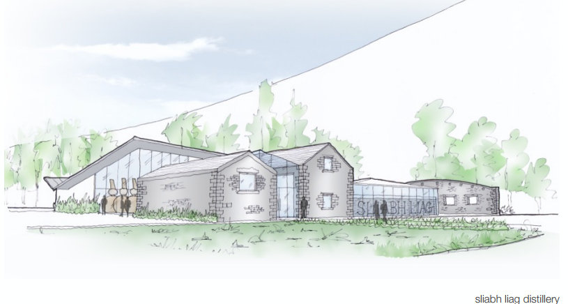 An artist's impression of the proposed distillery