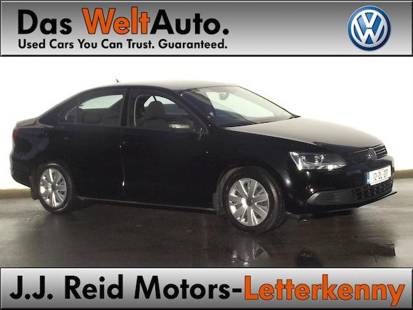 2012 Volkswagen Jetta, 1.6 TDI, 105 BHP, Black, Trendline,  J.J. Reid Motors, Canal Road, Letterkenny, Co. Donegal (1)