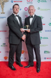 James Cassidy, Managing Director Healthwise Pharmacies with Phil Wilkinson of Reckitt Benckiser.