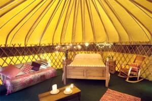 Yurt Interior1