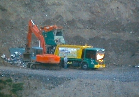 Caught: Ferry's were caught at this illegal dump in Falcarragh