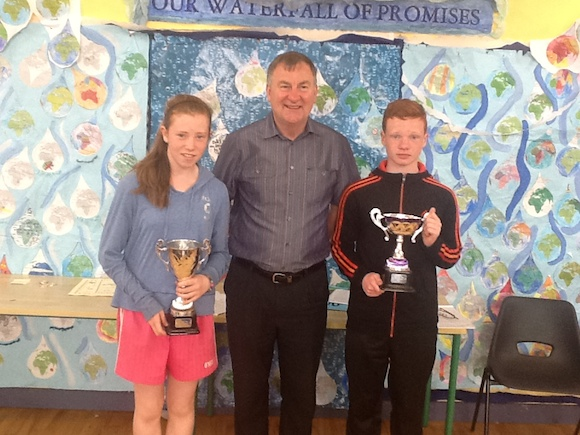 Eimear Devenney and Conor O Donnell overall sports star awards for 2014