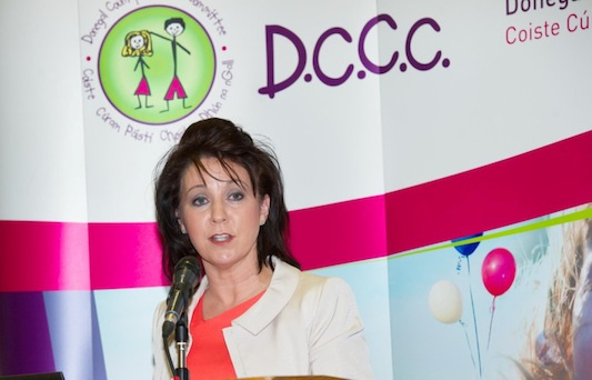 Head of Donegal Childcare Committee Avril McMonagle.