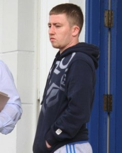 Ben Quinn appeared in court today on drugs offenses. Pic copyright North West Newspix.