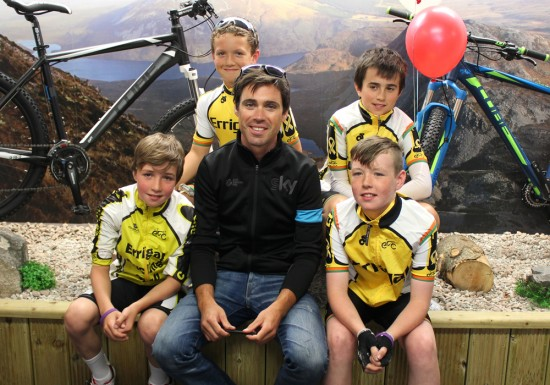 Philip Deignan on his visit recent to Cope Cycles with the Errigal Youths
