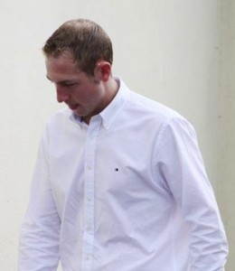 Shaun Kelly arriving at Letterkenny Circuit court (c) North West Newspix