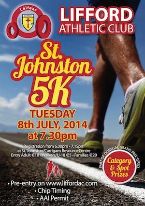 St Johnston 5K 2014