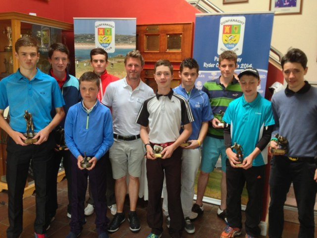 Under 14s,16s and 18s Prize winners