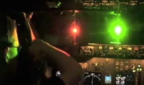 Air Corps crew were hit by bright lasers as they transported Donegal baby to hospital