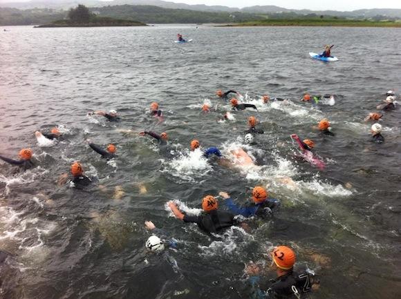 The Mulroy Swim gets underway